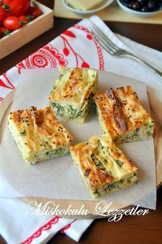 miskokulu lezzetler: Pileli (Büzgü) Börek