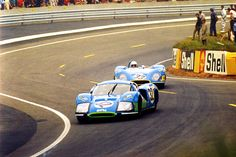 24 heures du mans 1968 matra 630 25 pilotes henri pescarolo johnny servoz gavin. Black Bedroom Furniture Sets. Home Design Ideas