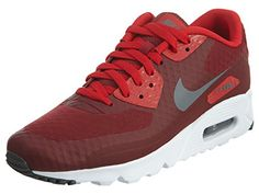 uk availability 444ea 26418 Nike Men s Air Max 90 Ultra Essential, TEAM RED DARK GREY-UNIVERSITY RED- WHITE, 8.5 M US