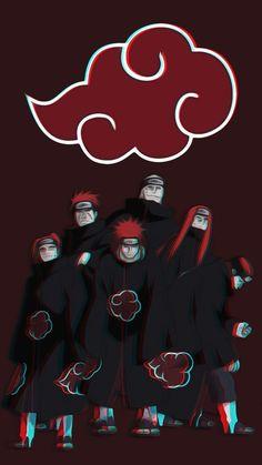 Six Paths of Pain - Naruto ~ DarksideAnime Naruto Shippuden Sasuke, Naruto Kakashi, Anime Naruto, Pain Naruto, Wallpaper Naruto Shippuden, Madara Uchiha, Otaku Anime, Gaara, Naruto Wallpaper Iphone