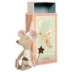 Petite souris fée des dents dans une boite (girl)