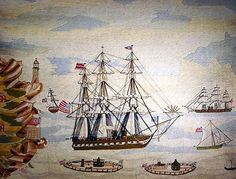 Very nice American Wooly with a wide variety of ships.