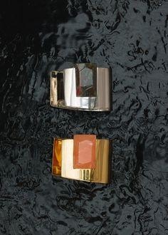 Stone Large Cuff Bracelets - セリーヌについて