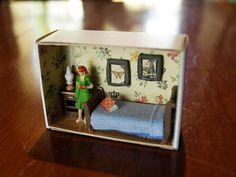 Matchbox house miniature www.suitcasedollhouse.com