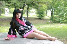 Korean's costume play girl-so la lee