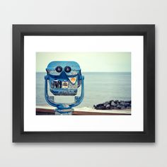 Way Out There  Framed Art Print by RDelean - $36.00