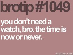 Love these brotips... I can always picture two juice heads saying this stuff to each other haha