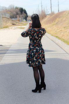 Frühlingskleid Robe Niki von Maison Fauve - My Handmade Wardrobe - Meine selbstgenähte Kleidung Elegant, Shoulder Dress, Dresses With Sleeves, Long Sleeve, Handmade, Fashion, Dress, Home, Sewing Patterns
