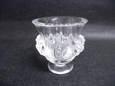 Lalique Dampierre Vase Crystal Glas France