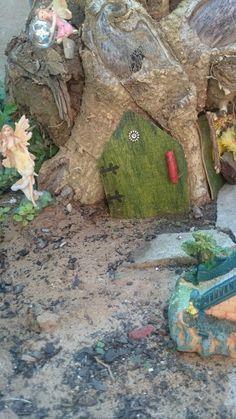Fairy house in stump by Gerda v.d Westhuizen