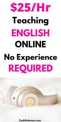 How to make money teaching English online: earn an online income of $25 per hour when you work from home for VIPKID.#makemoneyteachingenglishonline#onlinejobs#workathomejobs#makemoneyonline Earn Extra Cash, Making Extra Cash, Extra Money, Cash From Home, Make Money From Home, Way To Make Money, Teach English To Kids, Teaching English Online, Make Money Blogging