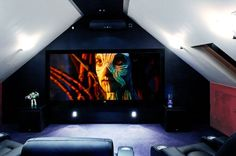 Loft Cinema Media Room