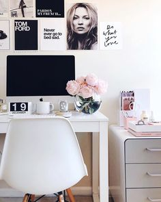 Top 10 Stunning Home Office Design Home Office Space, Home Office Design, Home Office Decor, Office Workspace, Interior Design Career, Desk Inspiration, My New Room, Bedroom Decor, Decoration