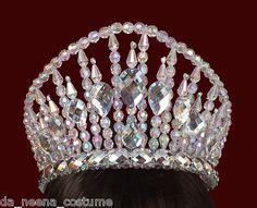 Da NeeNa H020D Showgirl Vegas Cabaret Drag Burlesque Stage Crystal Headdress | eBay