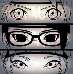 Boruto, Sarada, and Mitsuki