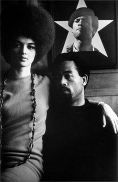 Gordon Parks Eldridge Cleaver and his Wife, Kathleen, Algiers, Algeria, 1970