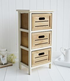 Lovely Narrow Bedside Tables