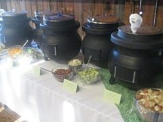 food for scot: Soup Bar--How To Serve 150. check this out sara they have some good ideas