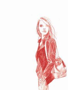 Girl Sketch / Drawing Inspiration