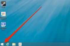 2013 -- 'Start' button is back at -- The Five Best New Features in Windows 8.1