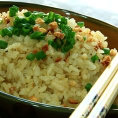 Garlic Butter Fried Rice - Simple & Delicious! Only 5 ingredients!