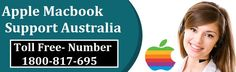 Apple MacBook is a portable device eased the pain of carrying heavy laptops. But sometimes this device faces some technical issues which are not easily resolved by the user. Then don't worry! Just call at MacBook Support Number Australia 1800-817-695. Our experts are available here 24*7 for your help. Or visit us for direct help: http://applemacbookprorepair.com.au/apple-support-australia.html
