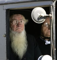 Amish - they do not really like to have photos taken