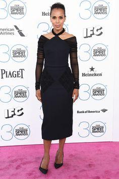 Kerry Washington in Balenciaga - 2015 Film Independent Spirit Awards