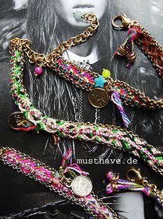 HIPPIE LOVE for best friends  shop the look:   http://www.musthave.de/brands/jewellery/exoal.html
