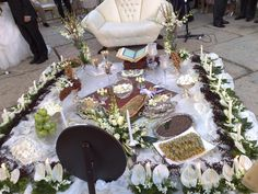 Persian Wedding. Iranian Wedding, Persian Wedding, Wedding Day Inspiration, Wedding Ideas, Wedding Events, Weddings, Wedding Table, Floral Design, Wedding Planning