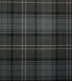 Highland Granite Tartan. Strome Heavy Weight Fabric from Lochcarron of Scotland, sold by the metre. 500-515gm per linear metre 138 cm wide. . . Sold by TartanPlusTweed.com A family owned kilt and gift shop in the Scottish Borders