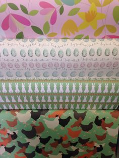 Spring gift wrap now available in our stores.