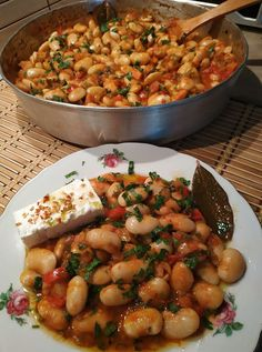 Greek Recipes, Vegan Recipes, Vegan Food, Cookbook Recipes, Cooking Recipes, Kung Pao Chicken, Sweet Home, Food And Drink, Ethnic Recipes