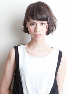 黒髪でもOK『水原希子風ボブ』 【ACQUA omotesando】 http://beautynavi.woman.excite.co.jp/salon/23362 ≪ボブ・ヘアスタイル・bob・hairstyle≫