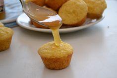 mini orange honey cornbread muffins