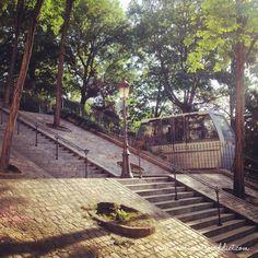 Les escaliers de la rue Foyatier | Montmartre Addict