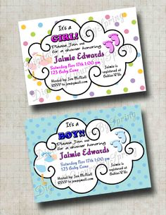 Baby Shower Printables, Baby Shower Themes, Baby Shower Invitations, Shower Ideas, Baby Lane, Different Fonts, Party Needs, Digital Invitations, Stork