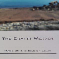 Handmade on the Isle of Lewis Scotland by TheCraftyWeaverStore How To Start Knitting, Hand Spinning, Scotland, Crafty, Handmade, Spinning, Hand Made, Spinning Yarn, Handarbeit