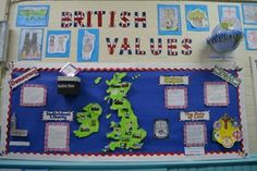 Stirchley Primary School - British Values Primary Classroom Displays, Classroom Display Boards, English Classroom Decor, Eyfs Classroom, Classroom Activities, British Values Display Eyfs, Ks2 Display, Working Wall, Primary Teaching