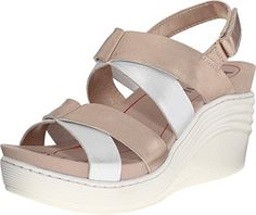 Bionica Womens Splendor GoldSilver Sandal 85 B M  To view further for this item
