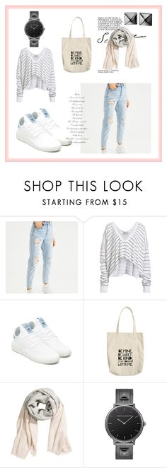 """""""Bez naslova #12"""" by edisa-dissa ❤ liked on Polyvore featuring American Eagle Outfitters, Wildfox, adidas Originals and Waterford"""