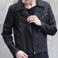 The Biker Jacket is now only $45 USD by @hazebury_  30% Off Sitewide - 24hrs Only Free Worldwide Shipping!  Visit: www.hazebury.com Follow: @hazebury_ by styleiswhat
