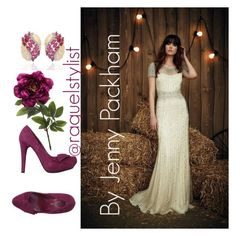 """Noiva lll"" by raquelstylist on Polyvore featuring Left and Right"