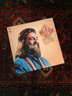 There's nothing better than listening to your favorite music on vinyl. Check out this 1970s Willie Nelson album, The Sound in Your Mind listed on the surfbeaver etsy shop, $7.50
