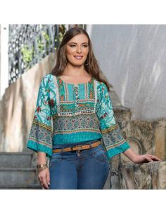 Linger`my Fall Elegance 2016 Blouse Styles, Blouse Designs, African Lace Styles, Modelos Fashion, Estilo Hippie, Embroidery On Clothes, Mode Boho, Dressy Tops, Hippie Outfits