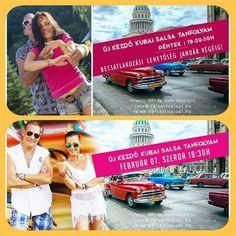 Új kezdő kubai salsa tanfolyam!