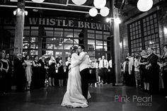 Dancing the night away at Steam Whistle Brewery Pearl Images, Toronto Wedding, Dance The Night Away, Brewery, Real Weddings, Dancing, Wedding Photos, Concert, Marriage Pictures