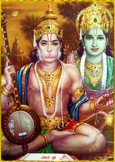 """☀ SHRI HANUMAN ॐ ☀  Shri Krishna said:  """"Austerity of speech consists in speaking words that are truthful, pleasing, beneficial, and not agitating to others, and also in regularly reciting Vedic literature.""""~Bhagavad Gita as it is 17.15  Please listen..."""