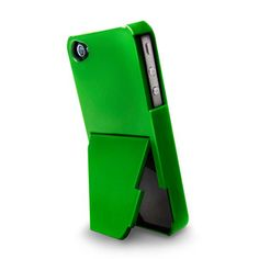 Stand iPhone 4/4S Case Green now featured on Fab. i want this with my new phone