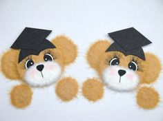 Graduation School TEAR BEARS Scrapbook by CraftyDesignNBargain